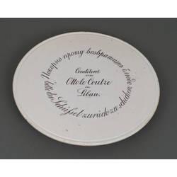Porcelain cake tray