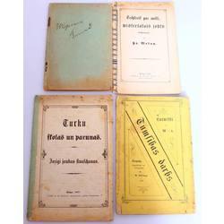 Četras dažādas grāmatas