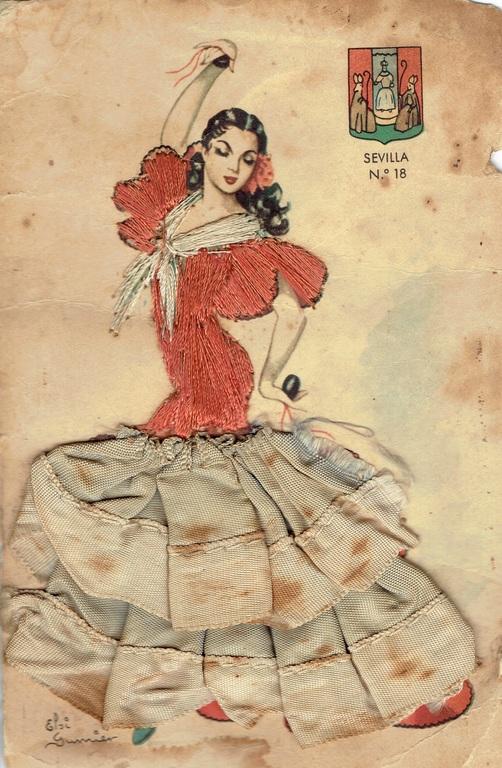 Tekstila pastkarte