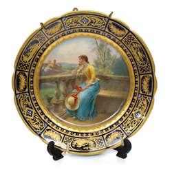 Dekoratīvais sienas šķīvis