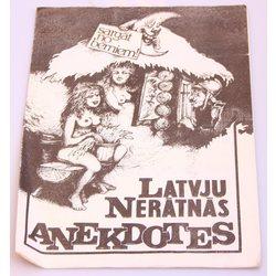 Latvijas nerātnās anekdotes