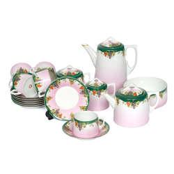 Kuzņecova fabrikas kafijas-tējas servīze 5 personām
