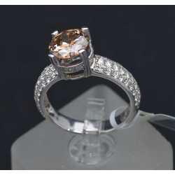 Zelta gredzens ar 69 dabīgiem briljantiem