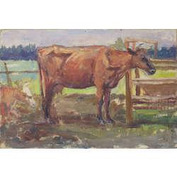Ainava ar govi