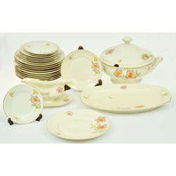Porcelāna pusdienu servīze 6 personām