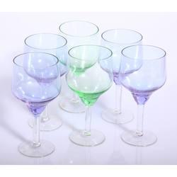 6 Stikla glāzes