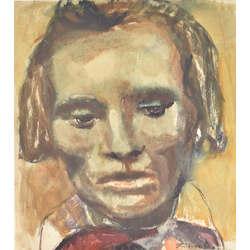 Divpusējs akvarelis - Portrets/Akts