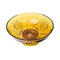 Dekoratīvs stikla trauks – mākslas objekts