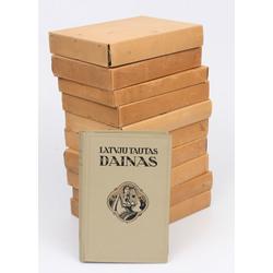 Latvju tautas daiņas oriģinālajos vākos 11 sējumi