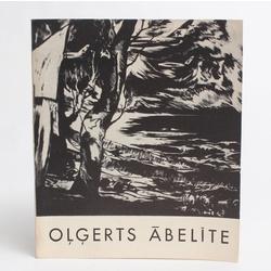 Buklets par Oļģerta Ābelītes radošo darbību