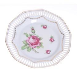 Dekoratīvais porcelāna šķīvis