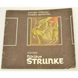Niklāva Strunkes izstādes katalogs
