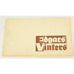 Gleznotāja Edgara Vintera darbu izstādes katalogs