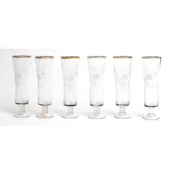 Stikla glāžu komplekts 6 gab.