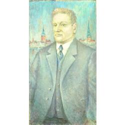 Kārļa Ulmaņa portrets