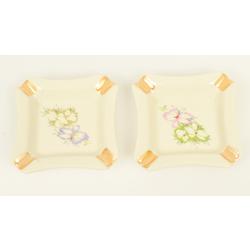 Divi porcelāna pelnutrauki