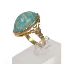 Sudraba gredzens ar akmeni