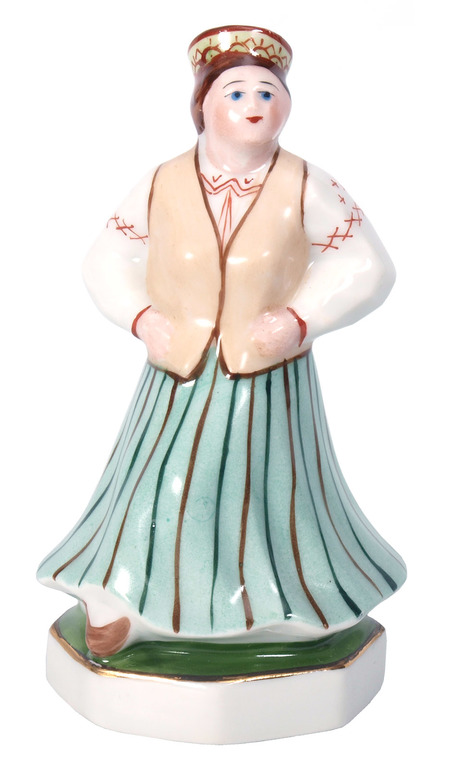 "Porcelāna figūriņa ""Tautu meita"""