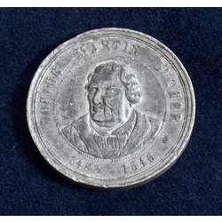 Piemiņas medaļa Mārtiņa Lutera dzimšanas 400 gadu atcerē
