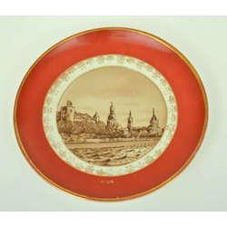 Dekoratīvais porcelāna sienas šķīvis