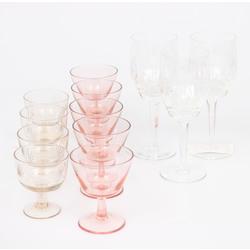 Dažādas stikla glāzītes 12gab.