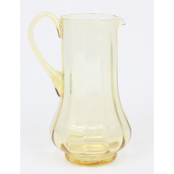 Iļģuciema krāsainā stikla limonādes krūze
