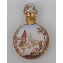 Zelta smaržu pudelīte