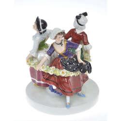 Porcelāna figurāla kompozicija