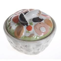 Porcelāna sēņu trauciņš