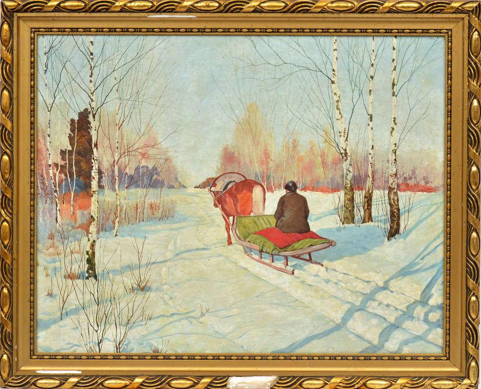 Pajūgs ziemā