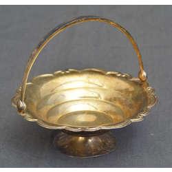 Серебряная миска для конфет из альпаки