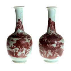 Ķīnas porcelāna vāzes - pāris