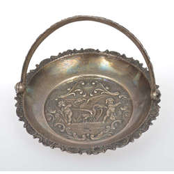 Silver candy bowl