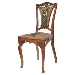Jūgendstila krēsli 3 gab.
