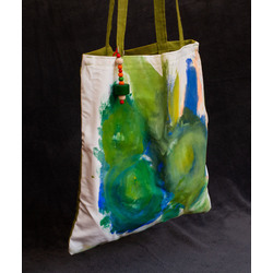 """Auduma soma """"Zaļā rudzupuķe"""""""