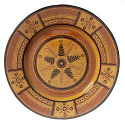 """Keramikas šķīvis """"Nacionālie ornamenti"""""""