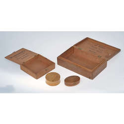 Wooden boxes of different sizes (4 pcs.)