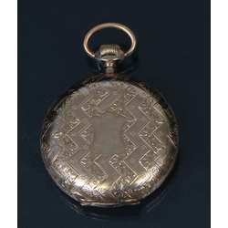 Золотие карманные часы