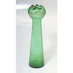 Zaļā stikla vāze