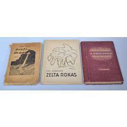 3 grāmatu komplekts