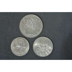 70th anniversary coins of the USSR 3 pcs.