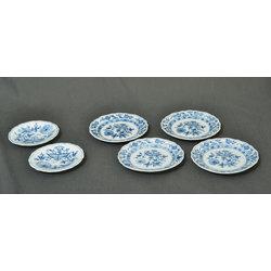Тарелки мейсенского фарфора 6 шт.
