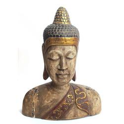 "Koka figūra ""Budas galva"""