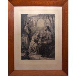 Kristus ar Mariju un Martu