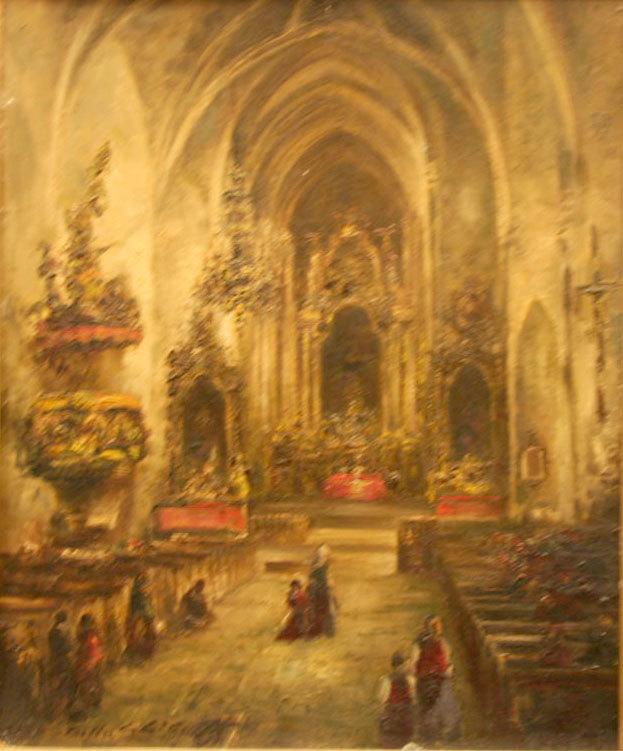 Baznīcas interjers