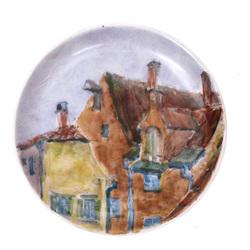 Sienas dekors – Vecrīga (mazais sienas šķīvis)