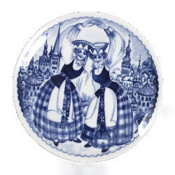 Dekoratīvs šķīvis – Dziedošā Tallina