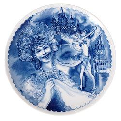 Dekoratīvs šķīvis – Maģiskā Maskava