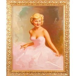 Mākslinieka sievas - Austras portrets