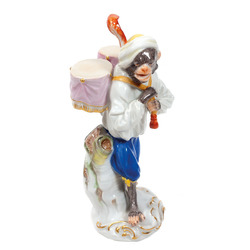 Porcelāna figūra Mērkaķis